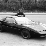KITT and Michael Knight Together
