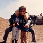David Hasselhoff With Young Fans