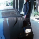 Rare First Photo Of Michael Knight And KITT Together For The First Time