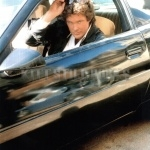 Michael Knight And KITT Together