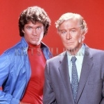 Michael and Devon from Knight Rider