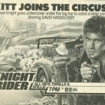 Circus Knights TV Guide Ad