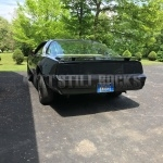 Correct Blackout On The Tail Lights