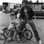 David Hasselhoff with Fans